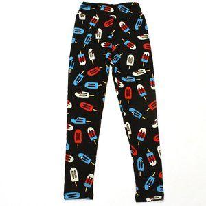 LuLaRoe Americana Popsicle Tween Leggings NWOT
